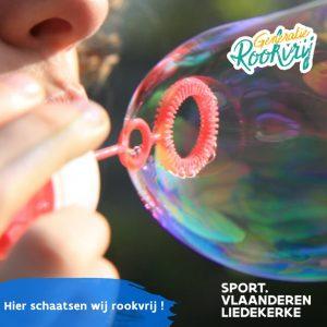 Sport Vlaanderen Liedekerke – Rookvrij